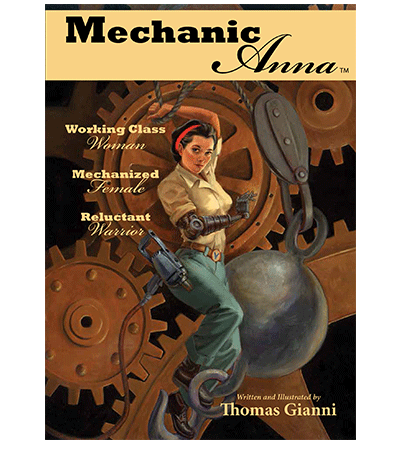 Mechanic Anna book cover